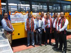 FLAG OFF OF THE BUS